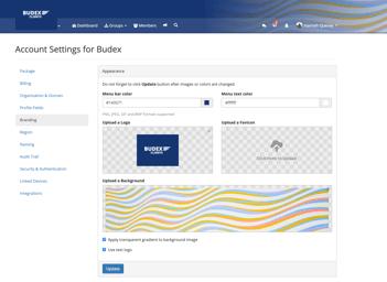 Budex branding image