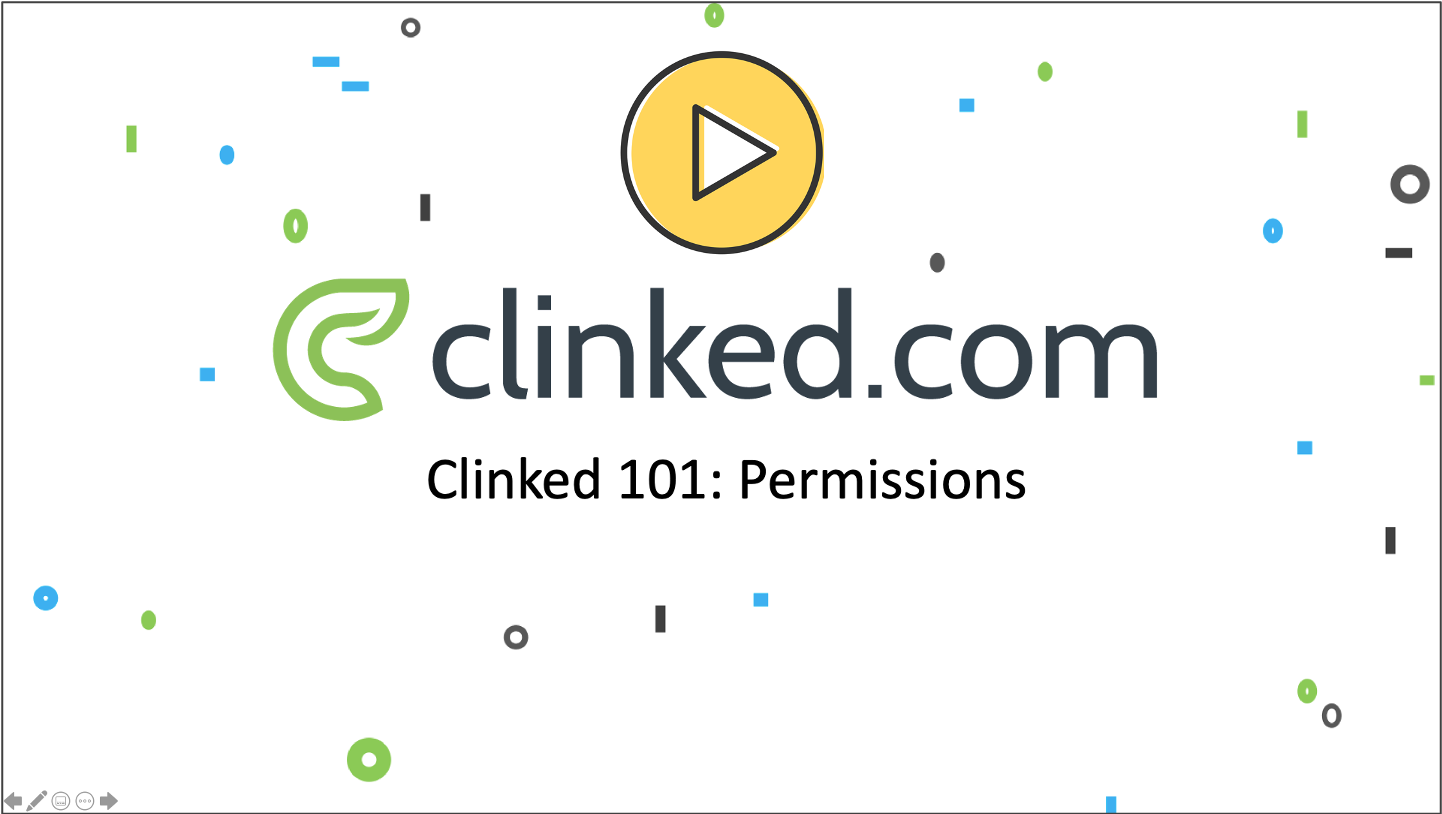 Clinked 101_Permissions