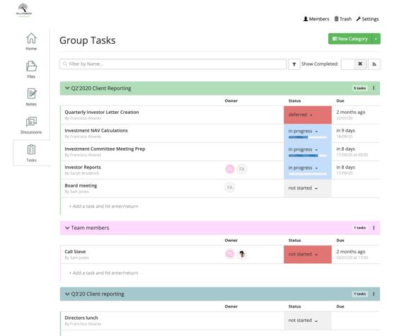 Group tasks image