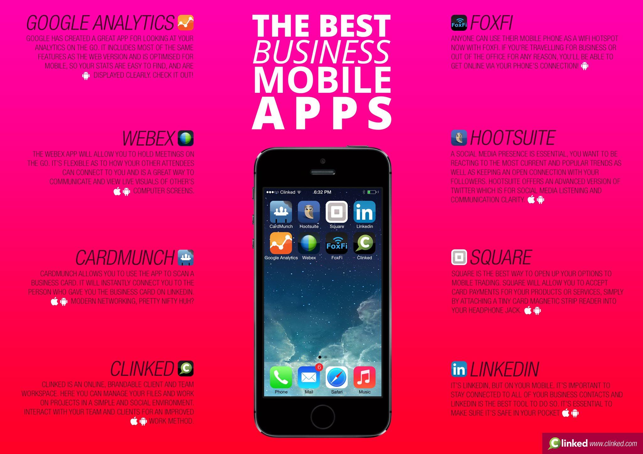best business mobile app