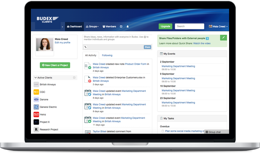clinked collaboration tool