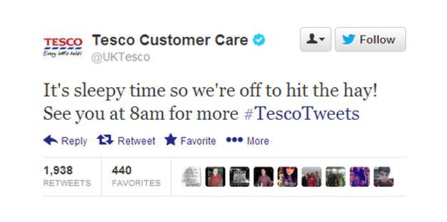 Tesco horsemeat social media fail