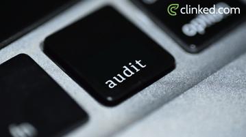 Wealth Management Client Portal audit button