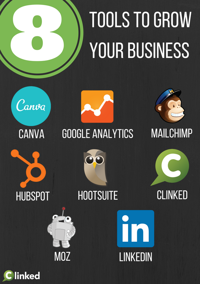 8 Essential Tools For Growing Your Business