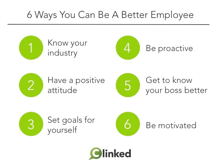6 Ways You Can Be A Better Employee
