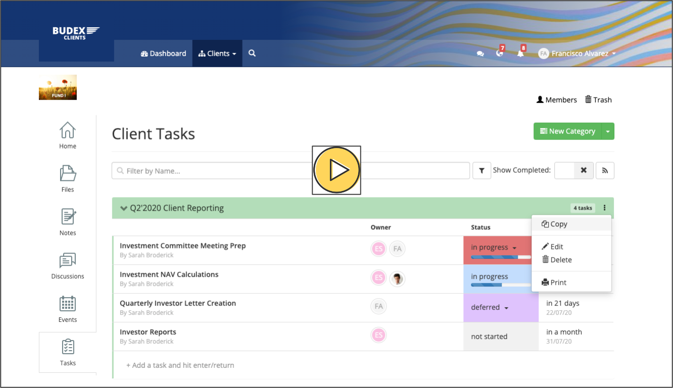 New Feature: Copying Tasks Between Groups